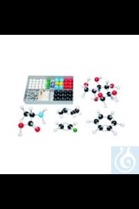 Molekülbausatz Organik S Jedes Schüler-Set wird mit einer Anweisung in einer...