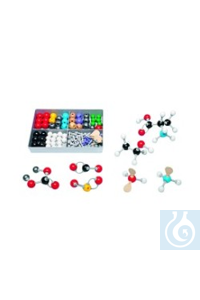 Molekülbausatz Anorganik/Organik S Jedes Schüler-Set wird mit einer Anweisung...