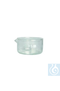 Kristallisierschalen Borosilikatglas 3.3, 40 mm Kristallisierschalen Borosilikatglas 3.3, 40 mm...