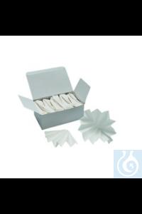 Faltenfilter mittelschnell Faltenfilter mittelschnell durchlaufend, Ø 90 mm, 100 Stück