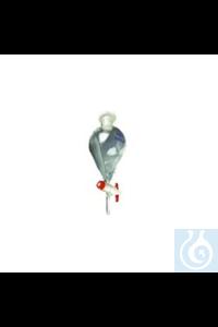 Scheidetrichter konisch, ISO 4800 Scheidetrichter konisch, ISO 4800, 50 ml Scheidetrichter...