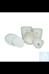 Schmelztiegel Porzellan, hohe Form Schmelztiegel Porzellan, hohe Form, Ø 45 mm