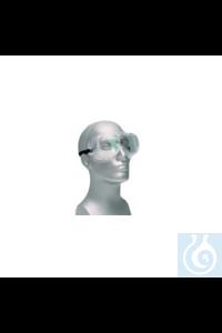 Schutzbrille mit Gummizug Vollsichtbrille/ Taucherbrille aus weichem PVC zum...