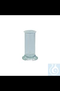 Standzylinder Glas HxØ 100x40 mm Standzylinder Glas HxØ 100x40 mm mit unterlegtem,...