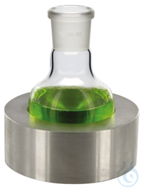 AM100/94 behrotest Aluminium adapter with bar spacers for 100 ml flask...