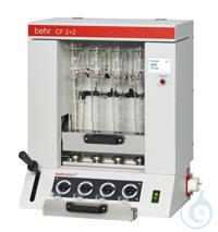 CF2+2 behrotest Analyseneinheit zur Bestimmung von Rohfasern mit 4 Probenplätze