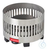 KP1 behrotest heating element diam. 90 mm with protective grill, 500 W 230 V, en behrotest...