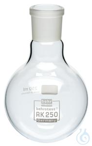RK250 behrotest round bottom flask 250 ml with neck NS 29 behrotest round bottom flask 250 ml...