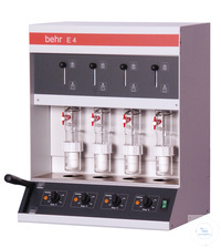 E4 behrotest extraction unit acc.to Randall 4 sample positions encl. beakers, co behrotest...