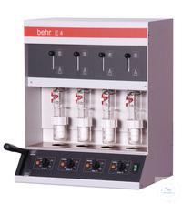 E4 behrotest Heißextraktion nach Randall für 4 Proben, inkl. Extraktionsbecher,Filterhülsen und...