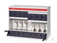 E6 behrotest Heißextraktion nach Randall für 6 Proben, inkl. Extraktionsbecher,Filterhülsen und...