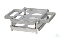 E6/B behrotest vessel holding frame for 6 vessels in COD heating block...