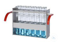 EG12 behrotest Einsatzgestell für 12x250 ml Gefäße im Inkjel  behrotest Einsatzgestell für 12x250...