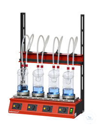 EXR4 behrotest system for crude fibre or hydrolysis for 4 samples, complete  behrotest system for...