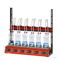 EXR6 behrotest system for crude fibre or hydrolysis for 6 samples  behrotest system for crude...