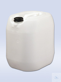 GKW10 PE canister 10 l, white, UN-CERTIFIED, screw-on cap PE canister 10 l, white, UN-CERTIFIED,...