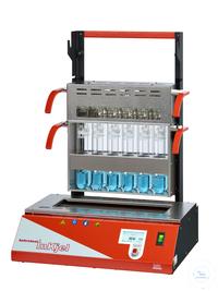 Inkjel1225P behrotest Aufschlussapparatur für 12x250 ml Gefäße programmierbar ko behrotest...