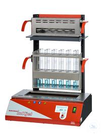 Inkjel1210P behrotest Aufschlussapparatur für 12x100 ml Gefäße programmierbar, k behrotest...