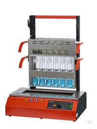 Inkjel1225M behrotest Aufschlussapparatur für 12x250 ml Gefäße manuell regelbar,
