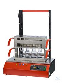 Inkjel450M behrotest Aufschlussapparatur für 4x500 ml Gefäße komplett arbeitsfäh behrotest...