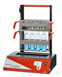 Inkjel450P behrotest Aufschlussapparatur für 4x500 ml Gefäße komplett arbeitsfäh behrotest...
