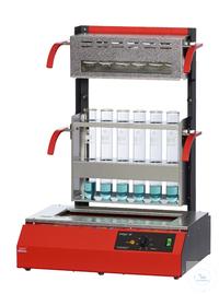 Inkjel625M behrotest Aufschlussapparatur für 6x250 ml Gefäße manuell regelbar, k behrotest...