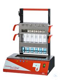 Inkjel625P behrotest Aufschlussapparatur für 6x250 ml Gefäße programmierbar komp behrotest...