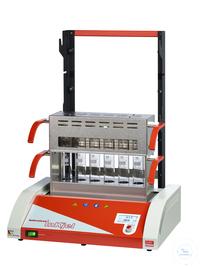 Inkjel625TCP behrotest Aufschlussapparatur für 6x250 ml Gefäße, Energie und Temp behrotest...