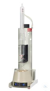 KEX500F behrotest Kompaktsystem für die 500 ml Extraktion, Extraktor mit Hahn