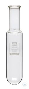 KJ500 behrotest Rundboden-Aufschlussgefäß 500 ml mit Glaswulst