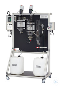 KLD4N/SR behrotest Bench-scale waste water treatm. unit with denitr. step O2-con behrotest...