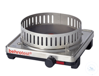 KP4 behrotest heating unit 2000 W with controller and protective grill 230 V, Ø  behrotest...