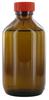 NB250GT behrotest Probennahmeflasche braun 250 ml, Enghals mit Verschluss und PT behrotest...