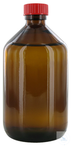 NB500GT behrotest sampling bottle 500 ml, brown glass, narrow neck with PTFE...