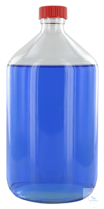 NK1000GT behrotest sampling bottle 1000 ml, clear glass, narrow neck with...