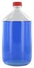 NK1000GT behrotest Glasflasche glasklar 1000 ml, Enghals mit Verschluss und Tefloneinlage