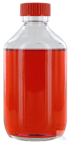 NK250GT behrotest sampling bottle 250 ml, clear glass, narrow neck with PTFE...