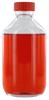 NK250GT behrotest Glasflasche glasklar 250 ml, Enghals mit Verschluss und Tefloneinlage
