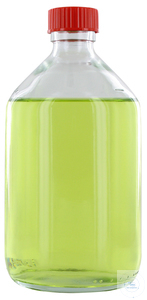 NK500GT behrotest sampling bottle 500 ml, clear glass, narrow neck with PTFE...