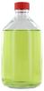 NK500GT behrotest Glasflasche glasklar 500 ml, Enghals mit Verschluss und Tefloneinlage