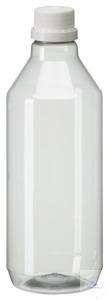 PEG1000 behroplast PET bottle, narrow neck, clear transparent, 1000 ml,...