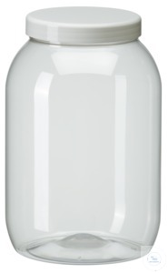 PWG2500 behroplast PET bottle, wide-mouth, clear transparent, 2500 ml with...