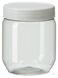 PWG500 behroplast PET bottle, wide-mouth, clear transparent, 500 ml with...