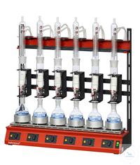 R106S behrotest Reihenheizgerät für die 100 ml Extraktion für 6 Stellen gleichzeitig, Extraktoren...