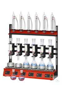 R106S-SK behrotest serial heating unit for extraction 100 ml with stopcock, with behrotest serial...