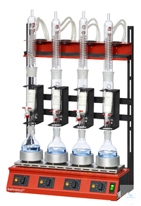 R104S-SK behrotest serial heating unit for extraction 100 ml with stopcock, flat behrotest serial...
