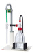 simvac behrotest Absaugsystem Neutralisationsflasche, Wasserstrahlpumpe + Schlauch