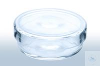 Petri dish (quartz) dimensions 20 x 6mm