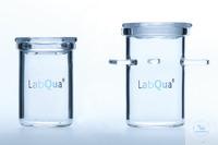 Incineration crucibles with lid (quartz glass) according Rademacher: diameter...