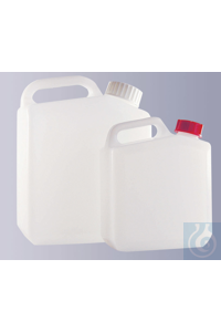 3Articles like: Jerrycan, HDPE, natural, complete with screw cap, GL 28, 1000 ml Jerrycan,...